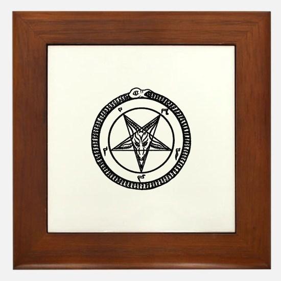 Unique Pagan Framed Tile