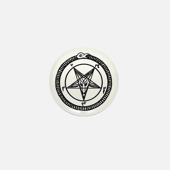 Funny Devil Mini Button