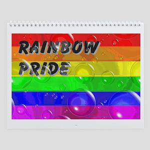 RAINBOW PRIDE 13 UNIQUE PICTURES Wall Calendar