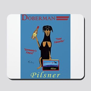 Doberman Pilsner Mousepad