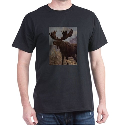 Vintage Moose Painting (1909) T-Shirt