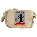 Black Dog Doughnuts Messenger Bag
