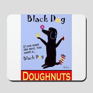 Black Dog Doughnuts Mousepad