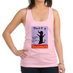 Black Dog Doughnuts Racerback Tank Top