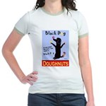 Black Dog Doughnuts Jr. Ringer T-Shirt