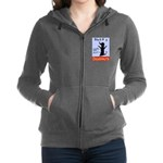 Black Dog Doughnuts Women's Zip Hoodie