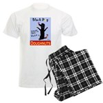 Black Dog Doughnuts Men's Light Pajamas