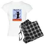Black Dog Doughnuts Women's Light Pajamas