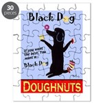 Black Dog Doughnuts Puzzle