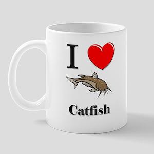 I Love Catfish Mug