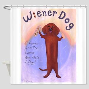Wiener Dog Shower Curtain