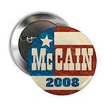 "McCain 2008 retro 2.25"" Button (10 pack)"