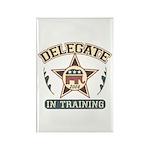 Delegate in Training Rectangle Magnet (10 pack)