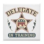 Delegate in Training Tile Coaster