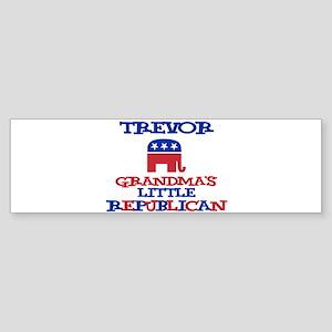 Trevor - Grandma's Little Rep Bumper Sticker