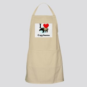 I Love Capybaras BBQ Apron