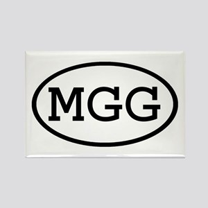 MGG Oval Rectangle Magnet