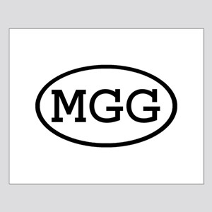 MGG Oval Small Poster