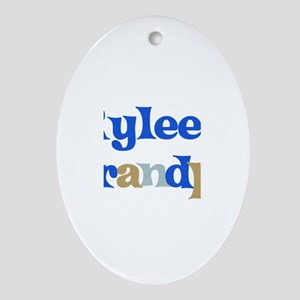 Rylee's Grandpa Oval Ornament