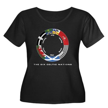 Celtic Nations Women's +Size Scoop Black