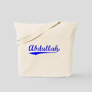 Vintage Abdullah (Blue) Tote Bag