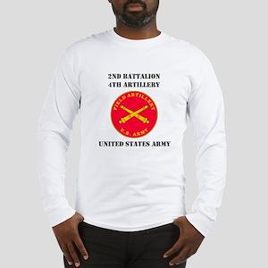 2ND BATTALION 4TH ARTILLERY Long Sleeve T-Shirt