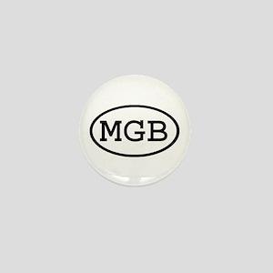MGB Oval Mini Button
