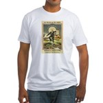 French Absinthe Prohibition Fitted T-Shirt