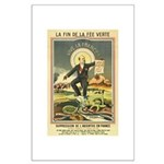 French Absinthe Prohibition Large Poster