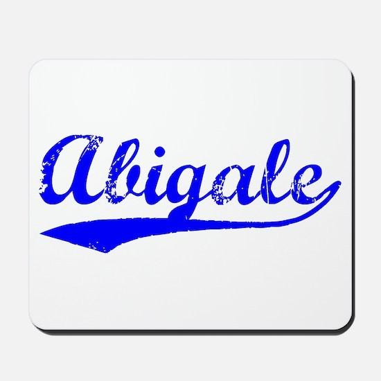 Vintage Abigale (Blue) Mousepad