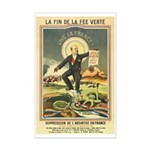 French Absinthe Prohibition Mini Poster Print