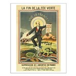 French Absinthe Prohibition Small Poster