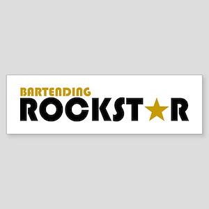 Bartending Rockstar 2 Bumper Sticker