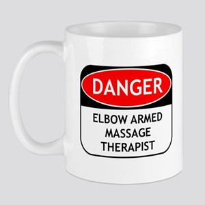 Elbow Armed Massage Therapist Mug