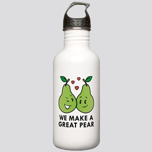 We Make A Great Pear Stainless Water Bottle 1.0L