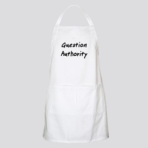 Question Authority Apron