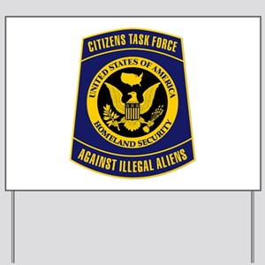 Citizens Task Force Patch Yard Sign