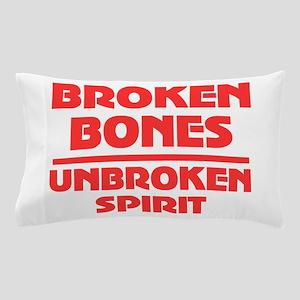 Broken bones Pillow Case