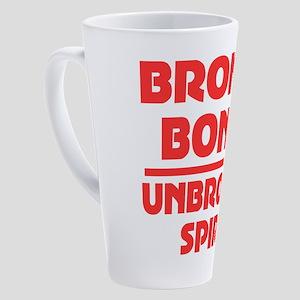 Broken bones 17 oz Latte Mug