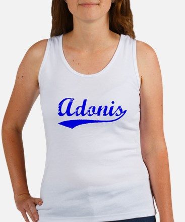 Vintage Adonis (Blue) Women's Tank Top