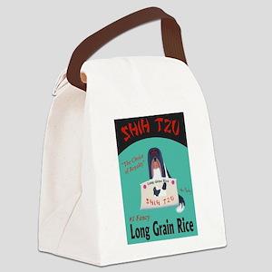 Shih Tzu Long Grain Rice Canvas Lunch Bag