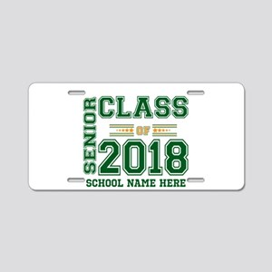 Personalized Senior Class of 2018 Green and Orang
