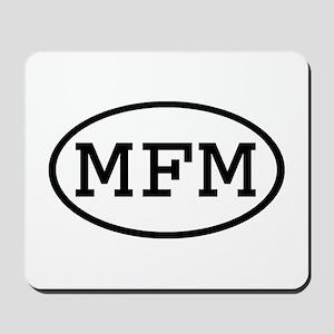 MFM Oval Mousepad