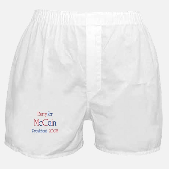 Barry for McCain 2008 Boxer Shorts