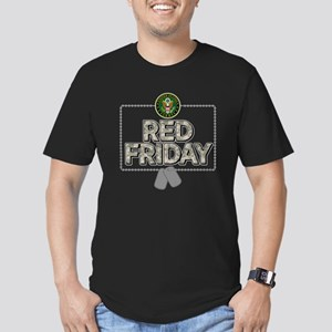 army red friday Men's Fitted T-Shirt (dark)