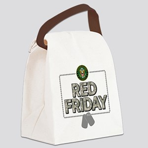 army red friday Canvas Lunch Bag