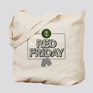 army red friday Tote Bag