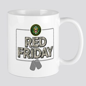 army red friday 11 oz Ceramic Mug