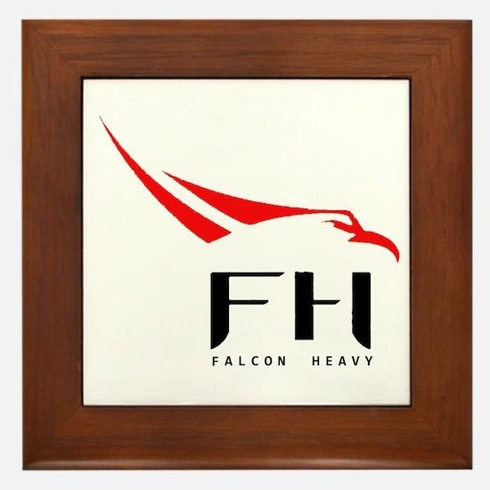 Cute Falcon Framed Tile