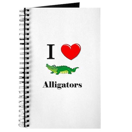 I Love Alligators Journal
